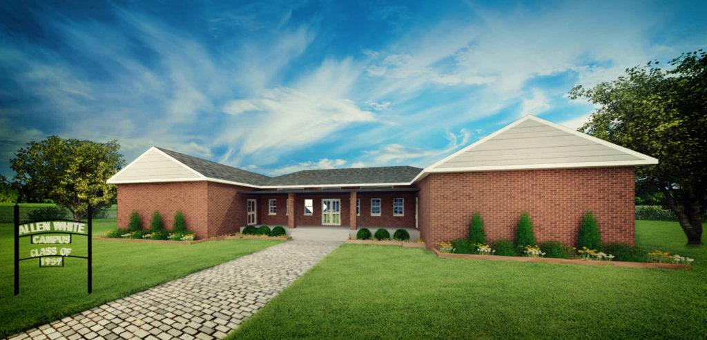 The Rebuilt Vision of the Allen-White School / Cultural & Community Center